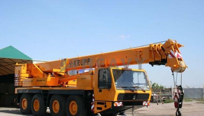 rent KMK 4070 Price rent krupp crane in mumbai maharashtra material handling kmk 4070 crane on rent he 2014 1163 heavyequipments_1539943118.png