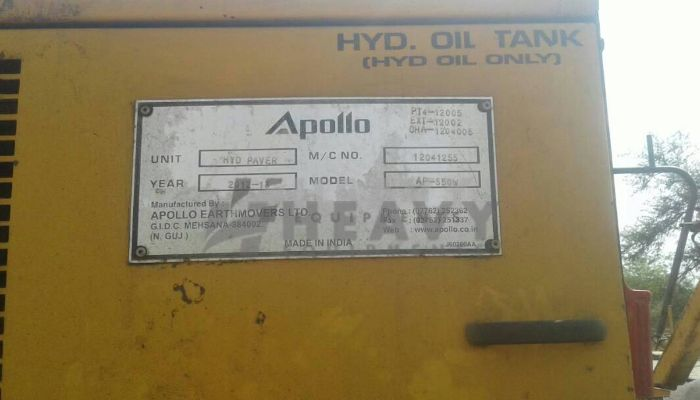 used AP 550 Price used apollo paver in pathankot punjab ap550 paver he 2012 153 heavyequipments_1518240771.png