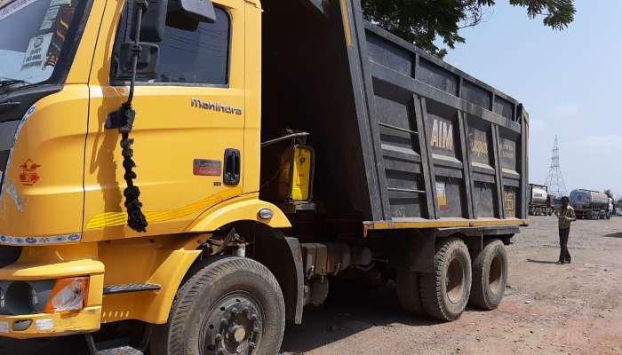 used BLAZO 25 TPR Price used mahindra dumper tipper in surat gujarat mahindra blazo 25 tipper he 1613 1559212452.webp