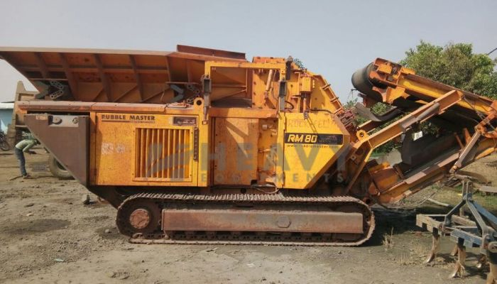 used RM80 150TPH Price used rubble master crusher plant in bhopal madhya pradesh used mobile crusher for sale he 2010 926 heavyequipments_1533276900.png