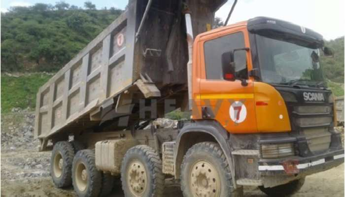 used P410 Price used scania dumper tipper in barmer rajasthan scania tipper for sale he 2015 1483 heavyequipments_1552566144.png