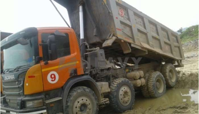 used P410 Price used scania dumper tipper in barmer rajasthan used scania tipper for sale he 2015 1474 heavyequipments_1552479771.png