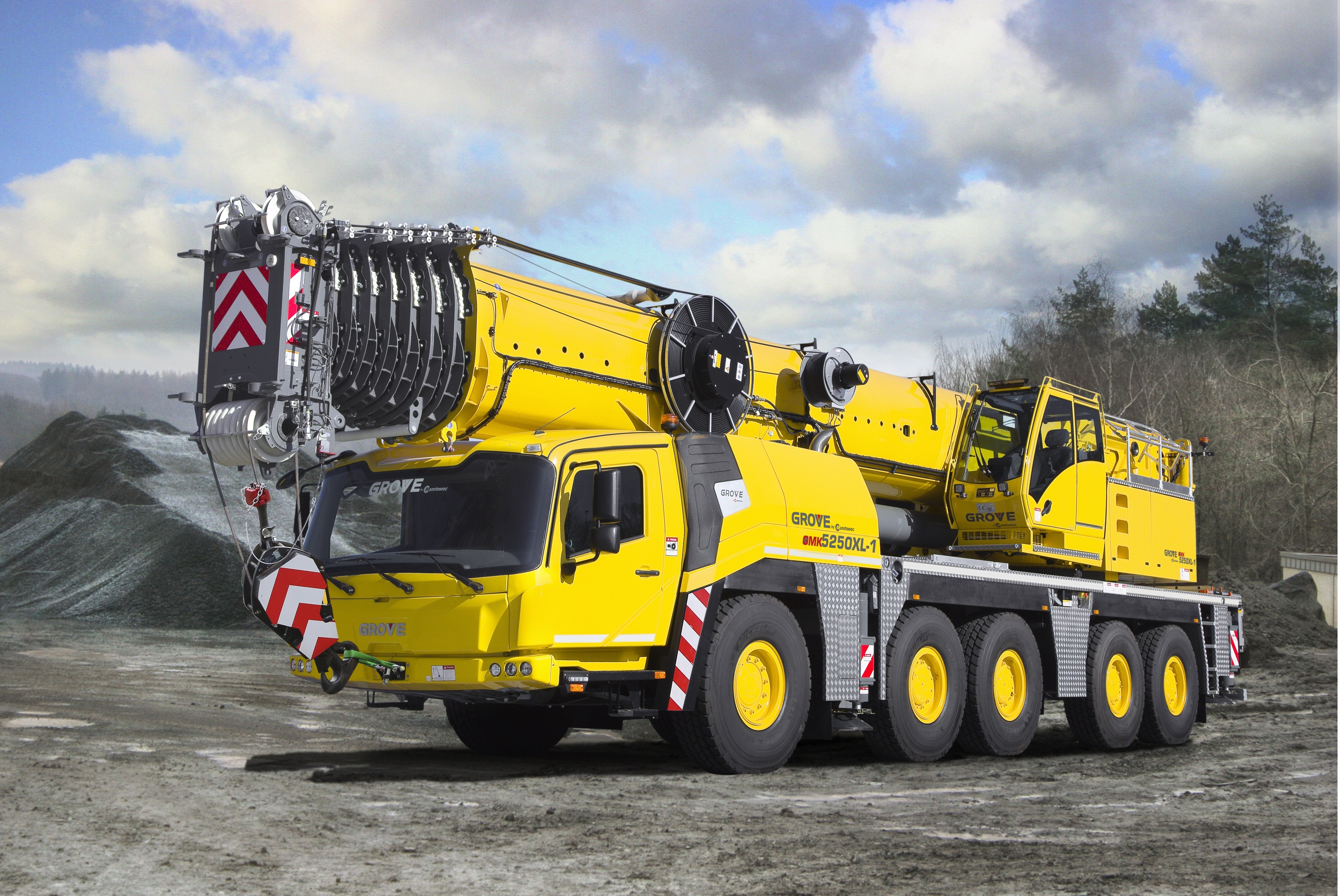 Grove Lunched New Model GMK5250XL-1, GMK3050-2, GMK3060L All-Terrain Cranes