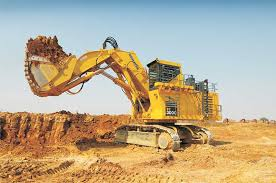 Komatsu Construction Equipment In India