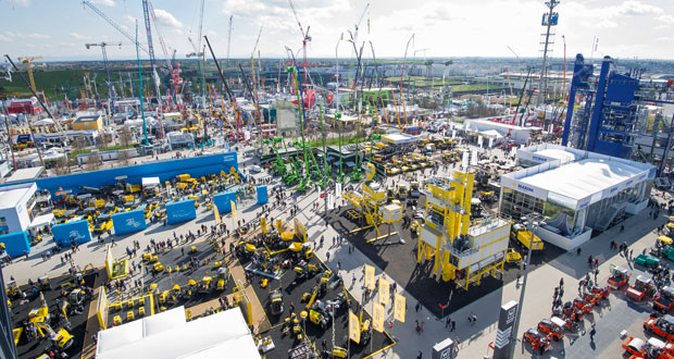 Largest Trade Fair Bauma 2019 Munich Machine Launching