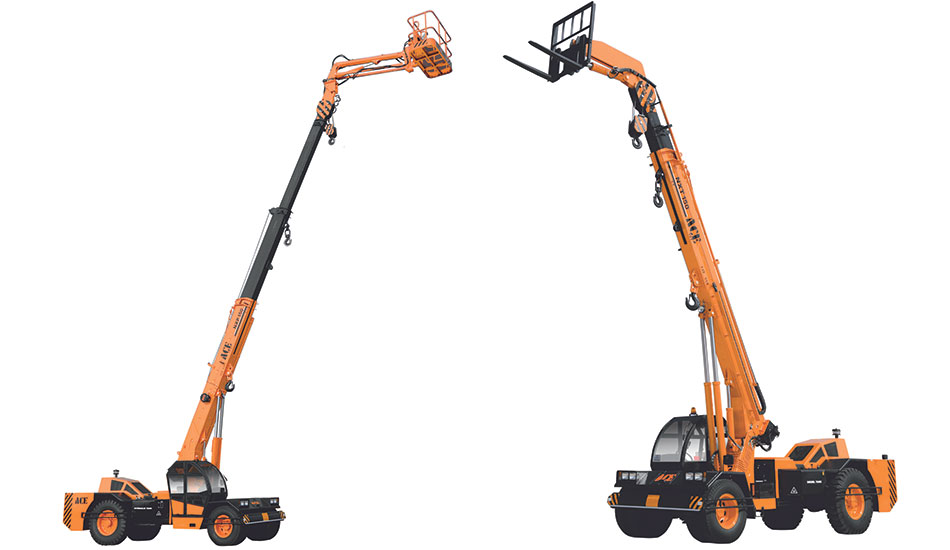 Recently ACE Introduced NX series Multi Purpose Crane