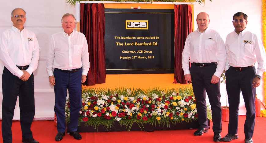 JCB to contribute Rs 650 cr to open new plant in Gujarat