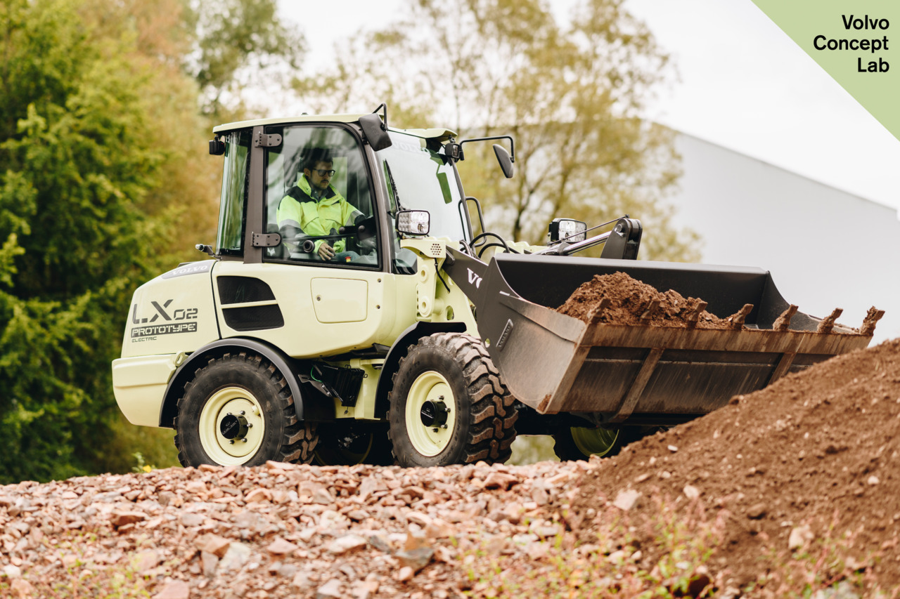 Volvo Construction Equipment goes to electric machines