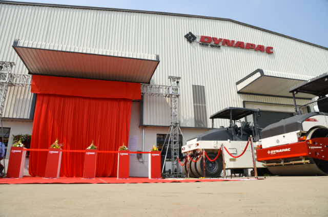 Dynapac Established New Production Plant in India