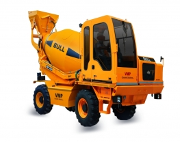 Best Self Loading Concrete Mixer in India