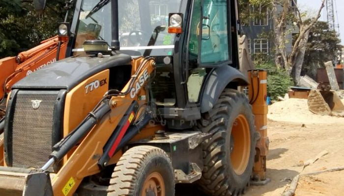 Case Backhoe Loader 770Ex For Rent