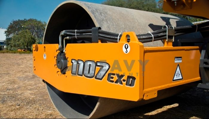 Hire Case 1107 EX-D Soil Compactor