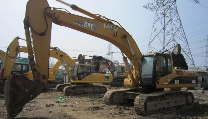 On Rent Caterpillar 330 Excavator