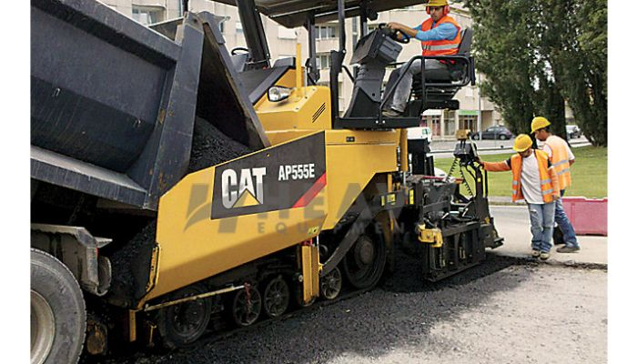 Asphalt Pavers  AP555F For Rent