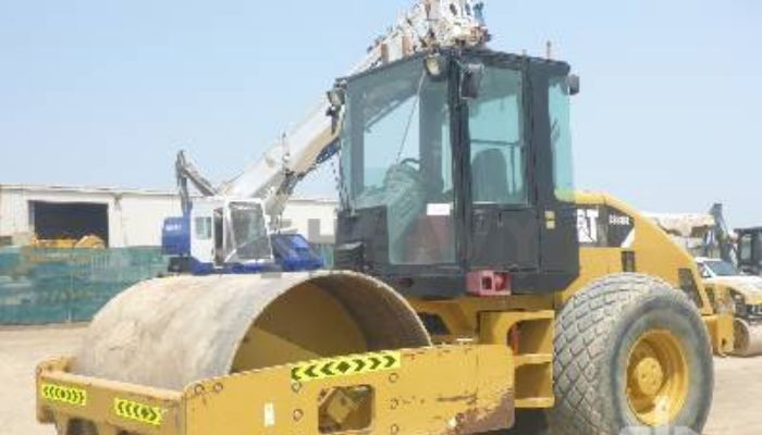 Hire Caterpillar Soil Compactor CS533E