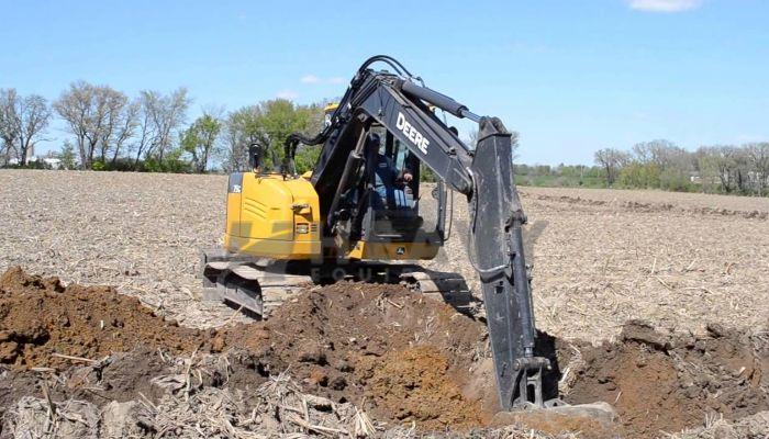Deere 75G Excavator On Rent