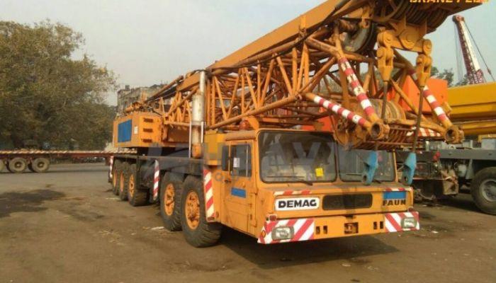 Demag TC 650 Lattice Boom Crane On Rent