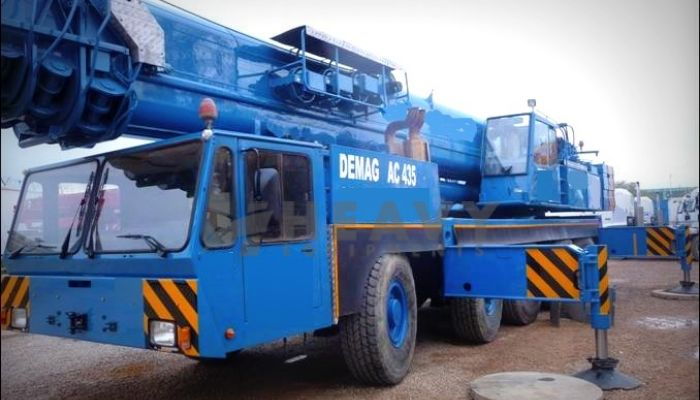 Rent Demag Ac 435 Crane