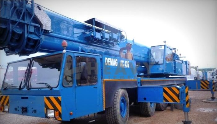 Demag Crane AC 435 On Hire