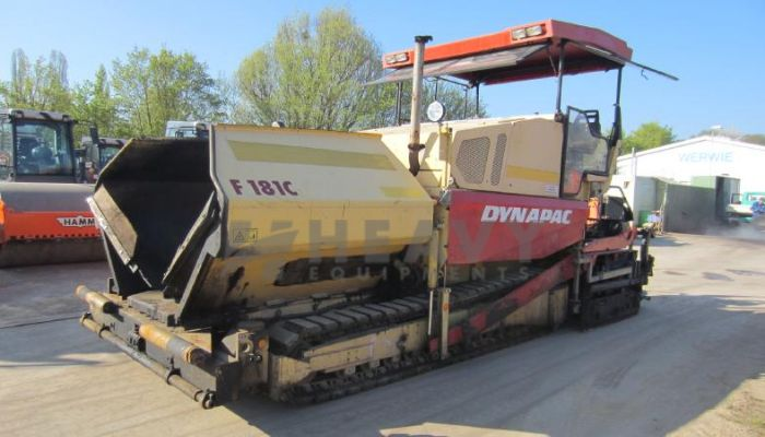 Dynapac Concrete Paver F181C For Rent