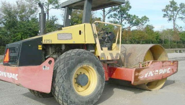 Hire On Dynapac CA 250 Soil Compactor