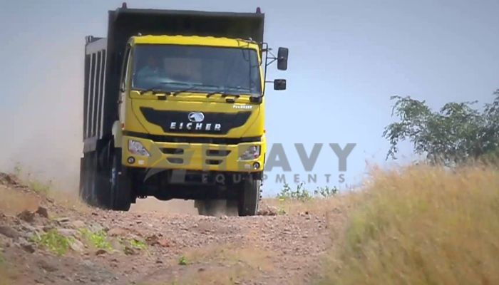 Hire EICHER Tipper Truck Price In Coimbatore