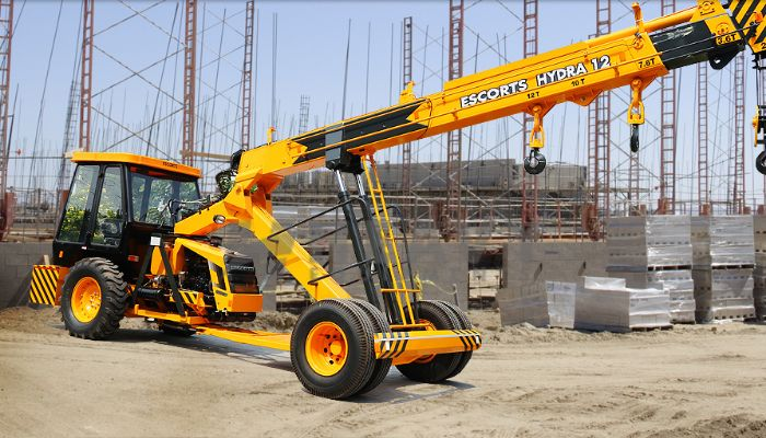 Hire On Escort Hydra Crane At 12 Ton