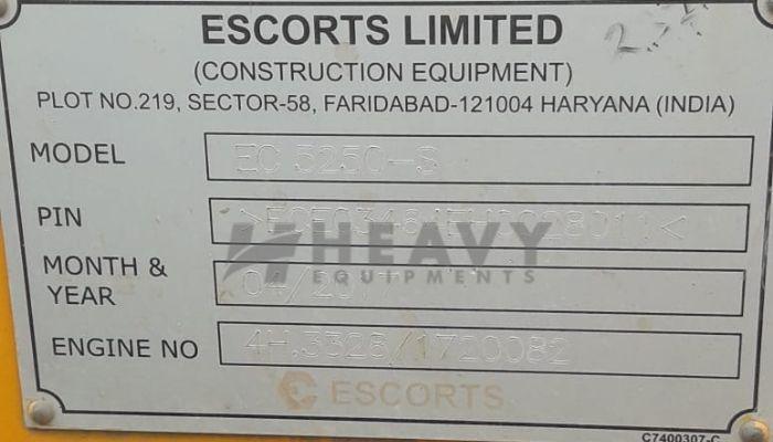 Escort 10 Ton Soil Compactor For Rent