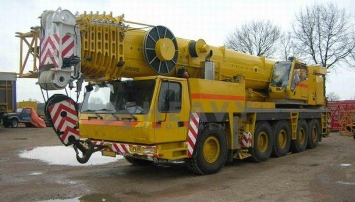 Hire Grove GMK 5220 Crane