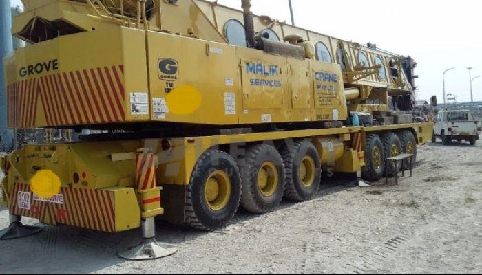 Grove TM1300 Truck Mounted Crane