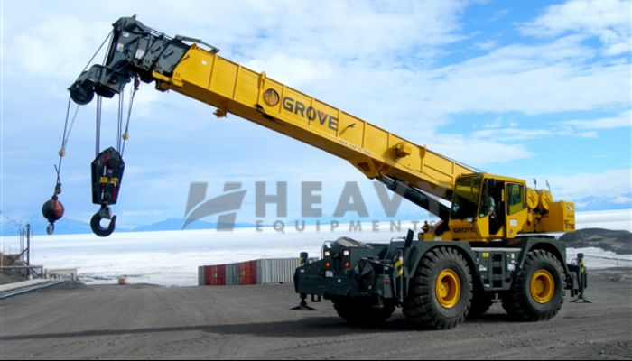 Grove Hydraulic Crane TMS 45Ton Rent In Gujarat