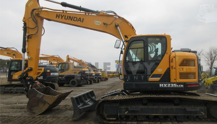 Hyundai HX235LCR Excavator For Rent