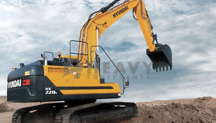 Hire On Hyundai HX 220 Excavator