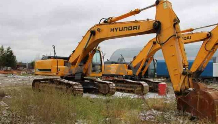 Hyundai Excavator On Hire In Delhi