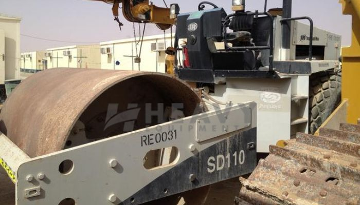 IR SD110 Soil Compactor On Rent