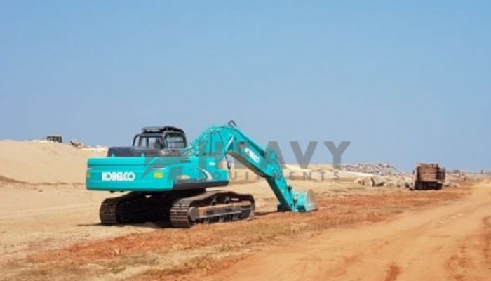 Kobelco Excavator On Rent In India