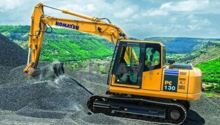 Hire Komatsu Excavator PC130