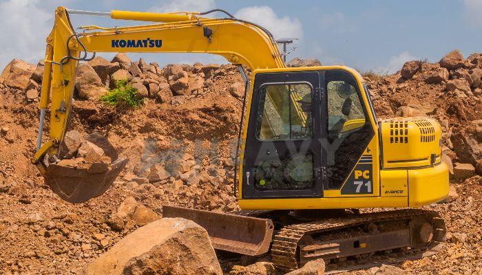 Komatsu Excavator PC71 On Hire