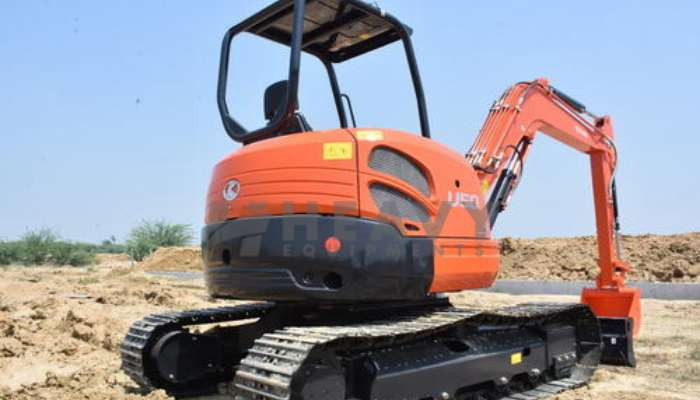 Kubota Excavator For Rent