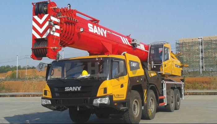 SANY Telescopic Crane On Hire