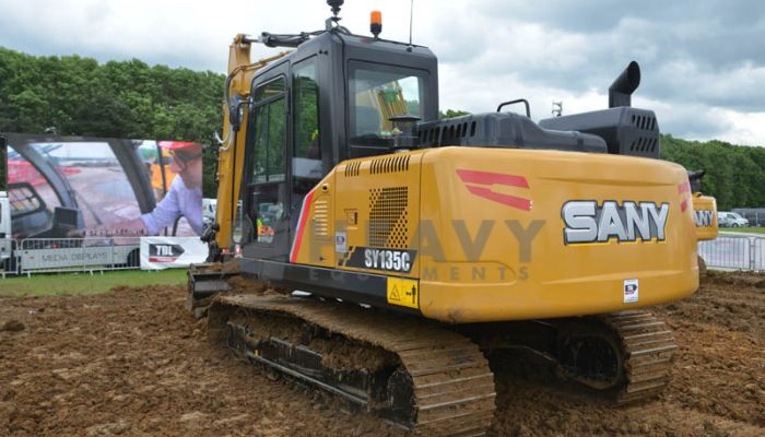 Hire On  Sany SY 135C Mini Excavator