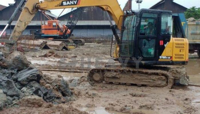 SANY SY 80C Excavator For Rental