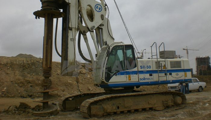 Solimec Hydraulic Rig SR 50 On Rent