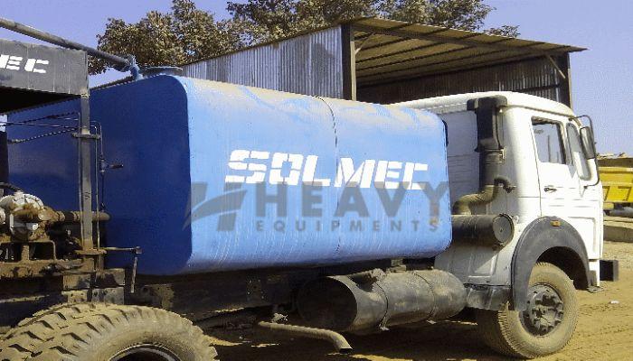 Solmec Bitumen Sprayer For Rental