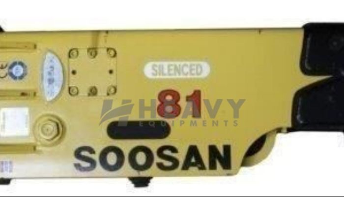 Soosan Hydraulic Breakers SB81TS On Rent