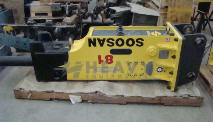 Soosan Hydraulic Breakers SB81TS On Rent
