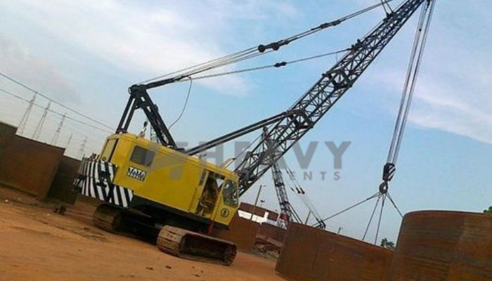 TATA 995ALC Crawler Cranes Rent In Mumbai