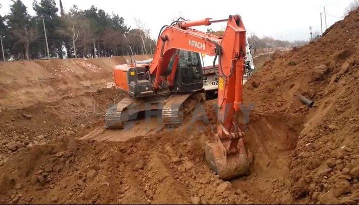 TATA Hitachi Excavator On Rent