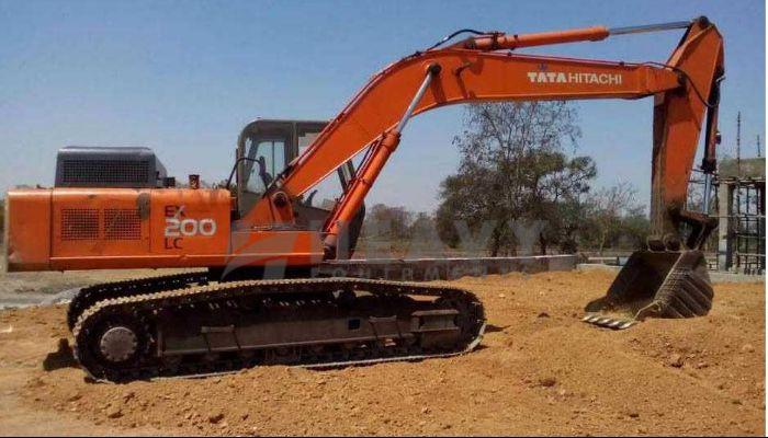 Tata Hitachi Ex 200 LC For Rent