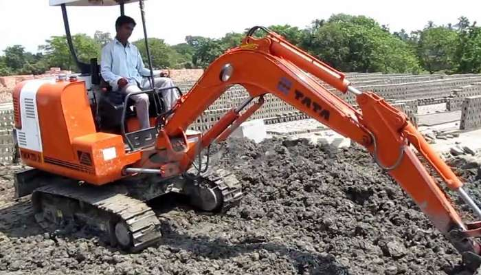 Rent TATA Hitachi TMX 20